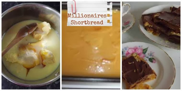 Millionaires shortbread: After Running A Race Treats