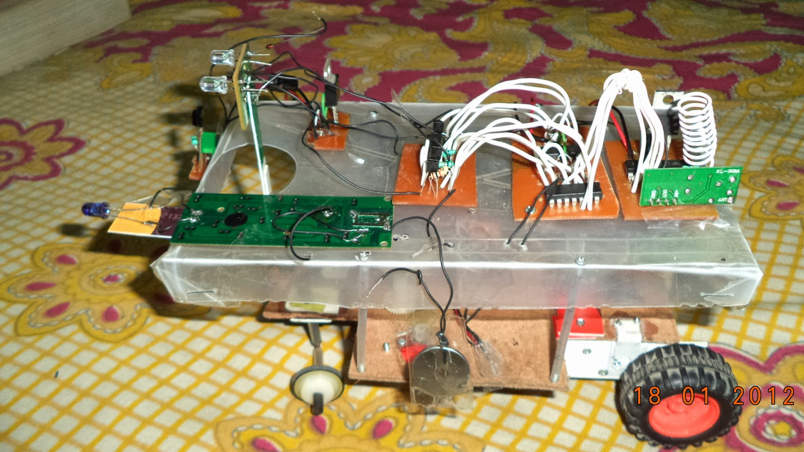 Electronics Project How To Make A Remote Control Car