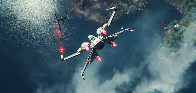X-Wing versus Tie-Fighter: Star Wars The Force Awakens