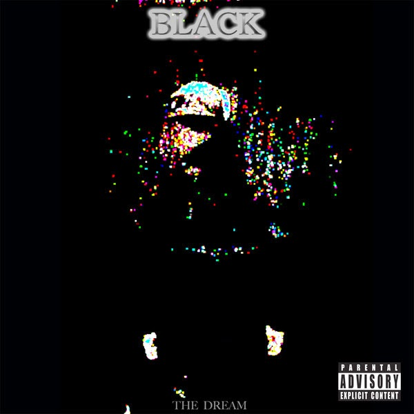 The-Dream - Black - Single  Cover