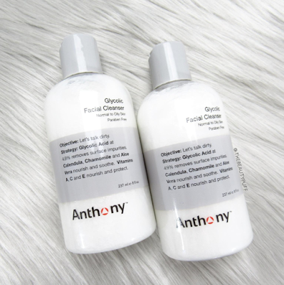 anthony glycolic facial cleanser - the beauty puff