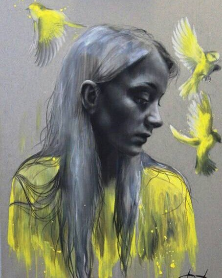 Paintings by Russian Artist Daria Pochinskaya