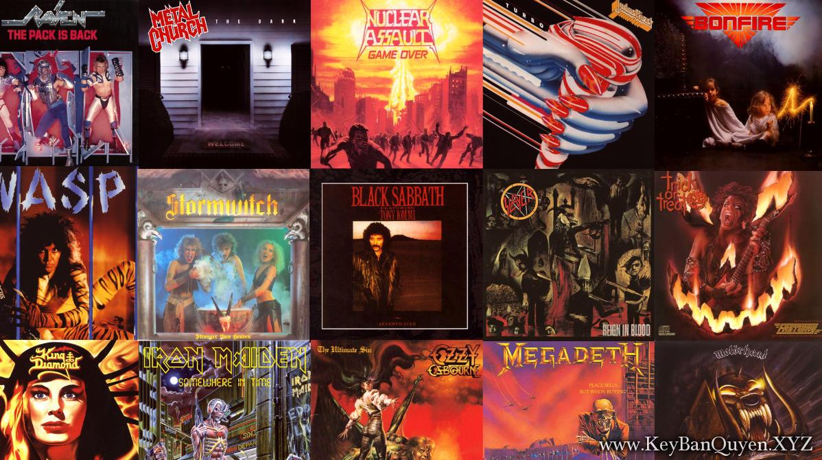Tổng hợp Clip nhạc HD Hard Rock and Metal hay nhất mọi thời đại - Phần 2- [MKV]