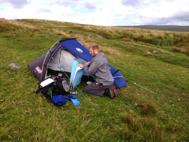 Solo Backpacking Tent & Image Is Loading Used-Lightheart ...