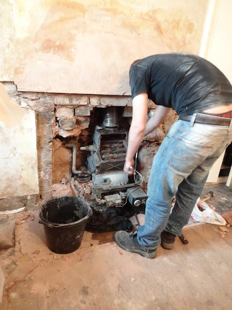 removing a back boiler