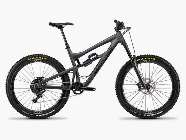 2014 Santa Cruz Nomad Carbon grey and black