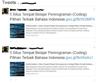 Cara Memasang Widget Tweets Timeline Twitter Di Blog