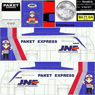 Download Livery Bus JNE