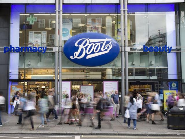 Boots em Londres