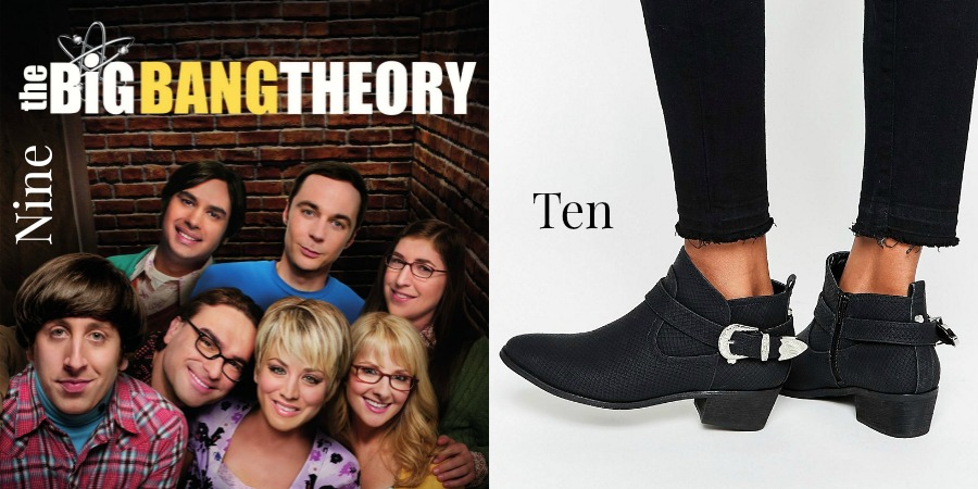 Monthly favourites #4 - The Big Bang Theory & New Boots