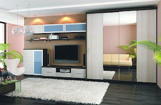 Выбираем мебельную стенку в гостиную комнату