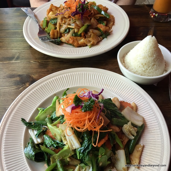 lunch specials at Sompong Thai in Jackson Heights, Queens, NYC