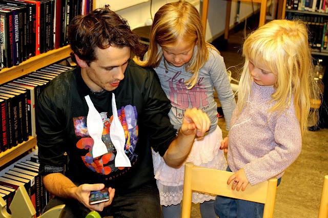 Forsker-Frederic er populær blant damene. Foto: Sigrun Eide