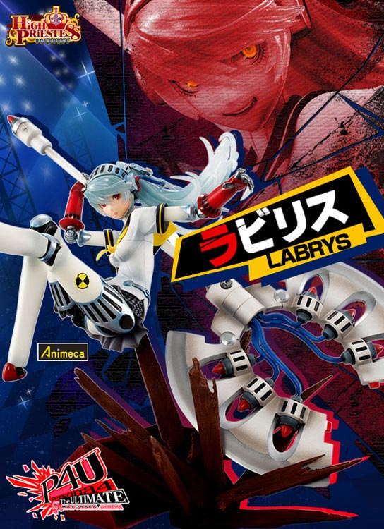 FIGURA LABRYS EDICIÓN High Priestess PERSONA 4 The Ultimate in Mayonaka Arena