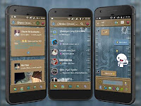 BBM MOD Droid Chat! v13.3.13 Jeans Mod Apk Clone+ Not CloneTerbaru