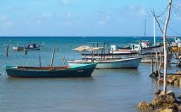 Pequenas embarcações de Cuba