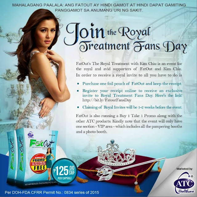Get ready for the FatOut's The Royal Treatment Fans Day!