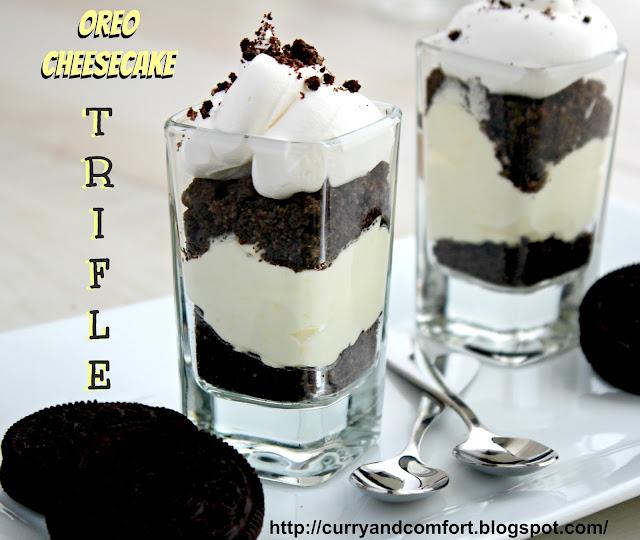 Kitchen Simmer: Oreo Cheesecake Trifles (Throwback Thursdays