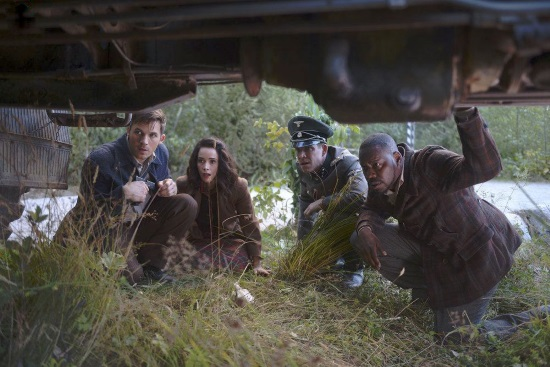 Abigail Spencer, Malcolm Barrett, Matt Lanter, Sean Maguire