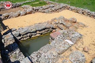 Aljibe en Recinto arqueológico de Numancia, Soria