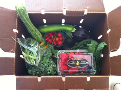 """A healthy life is like a box of vegetables"": An introduction to CSA boxes"