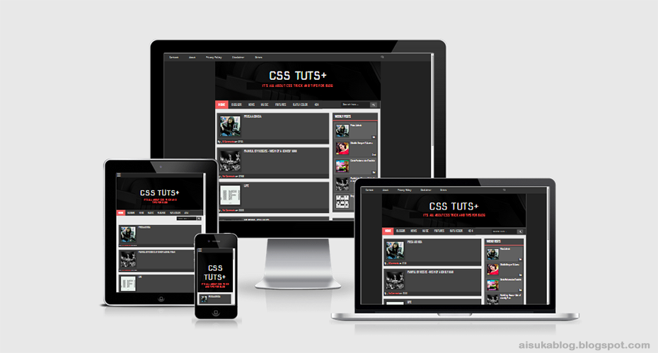 CSS Tuts Plus Blogger Template