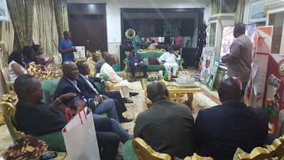 UNIPORT alumni pay GEJ a visit in Abuja (Photos)