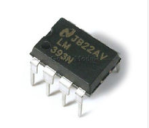 LM393N Encapsulado DIP.
