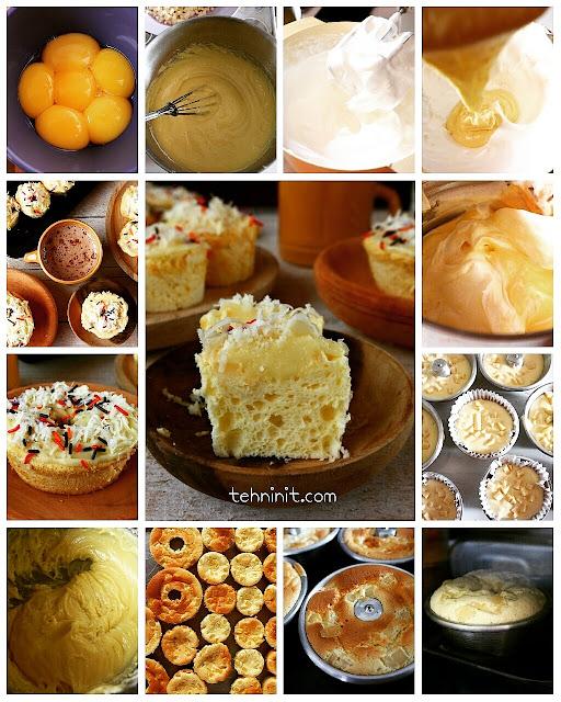 Chiffon Keju Cupcake