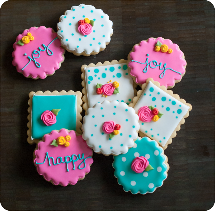 THE perfect cut-out sugar cookie for decorating...I've made literally THOUSANDS of these cookies and they're always perfect!