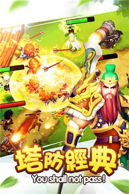 Tower of the Three Kingdoms Mod Apk v1.9.30 Games Terbaru