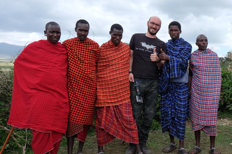 الماساي في تنزانيا