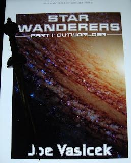 Portada del libro Outworlder, de Joe Vasicek