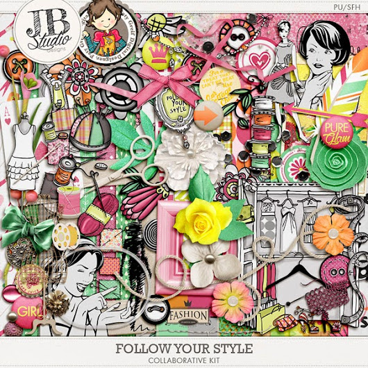 Collab by JB Studio and Paty Greif Follow Your Style