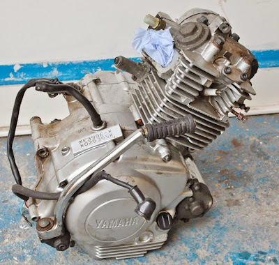 Yamaha YBR 125 Engine Rebuild Information