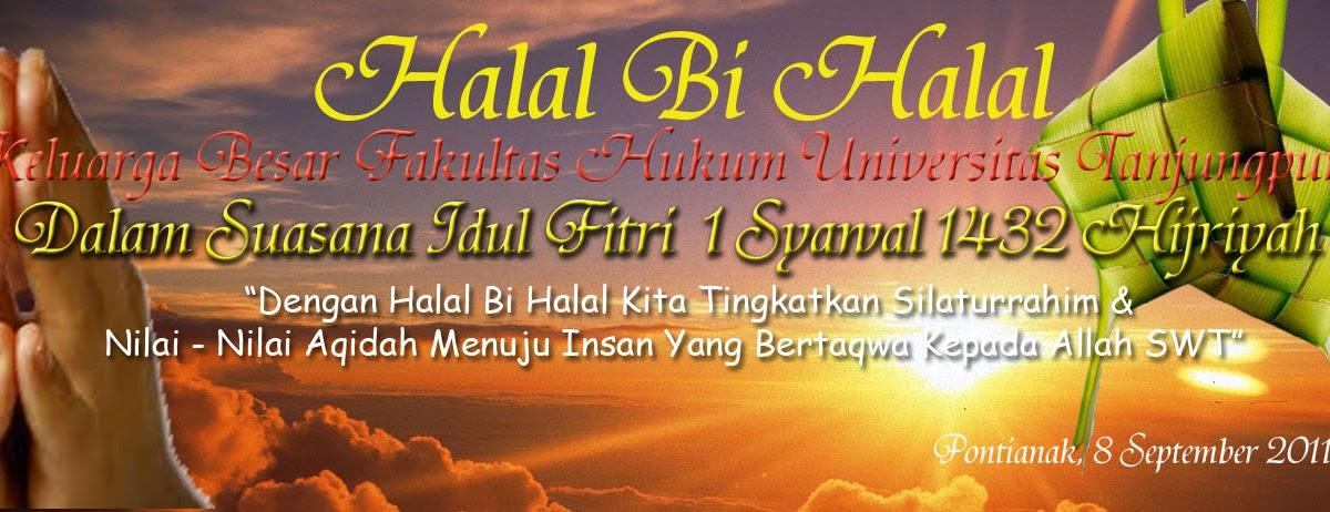 Contoh Banner Halal Bihalal Contoh Sur