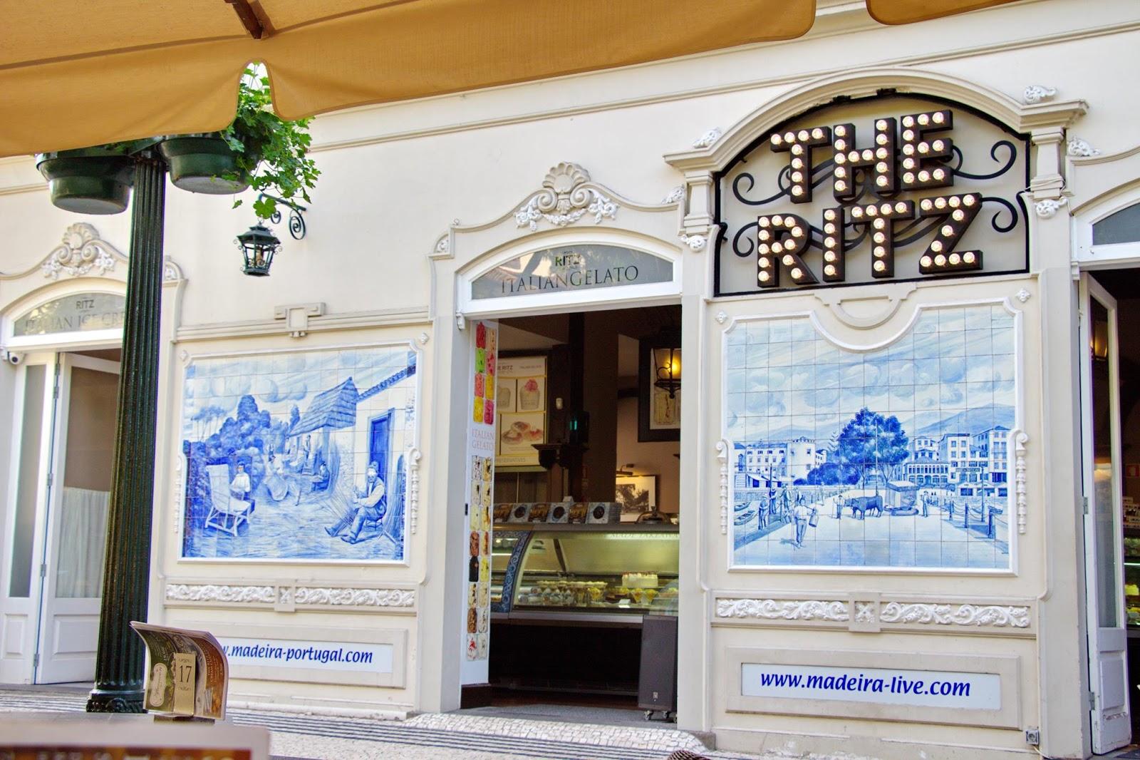 os azulejos do The Ritz