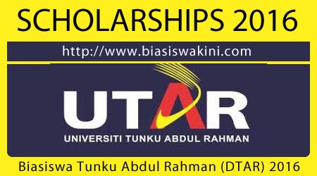 Tunku Abdul Rahman Studentship (DTAR) 2016