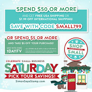 Shop Simon Says Stamp (Nov. 28th only)