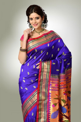 India-paithani-saree-designs-maharashtrian-blouse-patterns-13