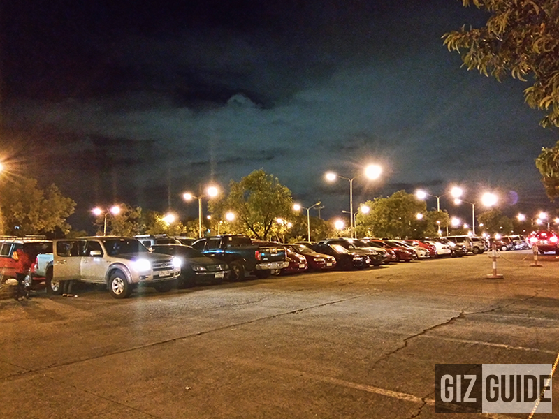 Gionee Elife S Plus Night Mode test