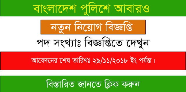 Bangladesh Police Published New Job Circular