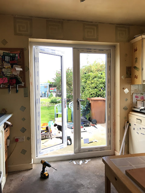 fitting a upvc french door nottinghamshire