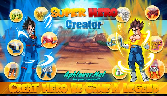 Create Dragon Z Saiyan Warrior MOD APK