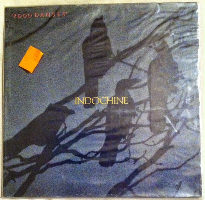Disco de vinilo - Indochine - 7000 danses (de ocasión)