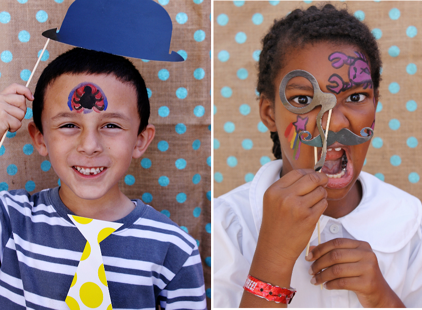 D.I.Y Photo Booth for Emotional Growth and Cooperative Play
