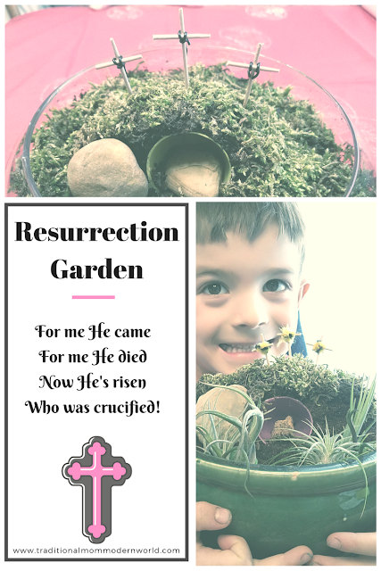 Teach the real reason for Easter #Easter #eastertradition #eastercrafts #christ #kidsgarden