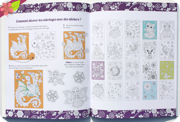 Coloriages féeriques et 200 stickers à colorier - Eugénie Varone - Gründ jeunesse