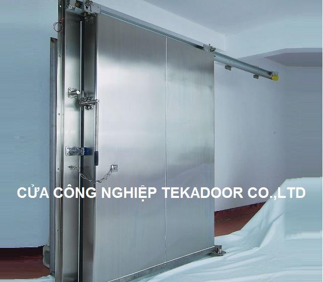 Cửa kho lạnh Inox SUS 304 Cold Storage Door