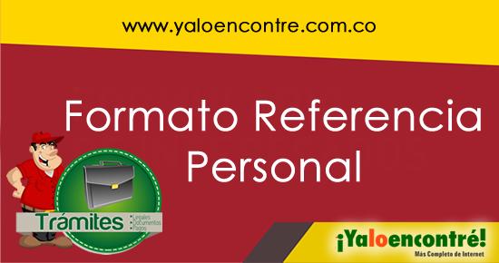 modelo de referencia personal